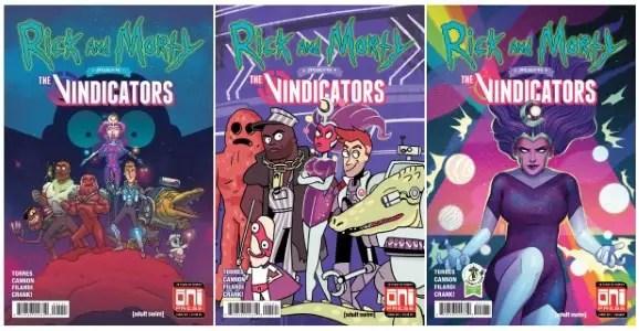 Rick & Morty presents the Vindicators #1