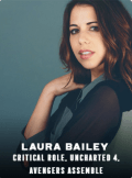 laura bailey appearing at C2E2 2018
