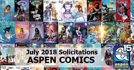 Aspen Comics July Solicits