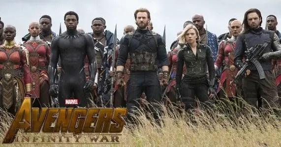 Avengers Infinity War clips