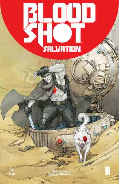 BLOODSHOT SALVATION #10 – Cover A by Kenneth Rocafort