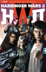 HARBINGER WARS 2 #3 (of 4) – Cover B by Mico Suayan