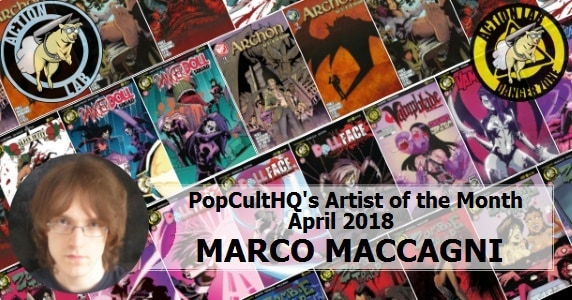 Marco Maccagni - Artist of the Month
