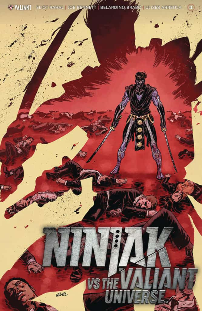 NINJAK VS. THE VALIANT UNIVERSE #4 (of 4) - Cover A by Brian Level