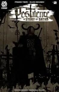 PESTILENCE A STORY OF SATAN #2 Tim Bradstreet cover