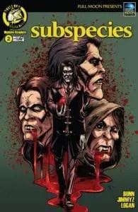Subspecies #2 Cover A by Daniel J Logan