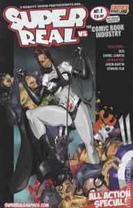 Super Real vs the Comic Book Industry