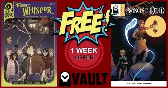 Vault Comics free digitals