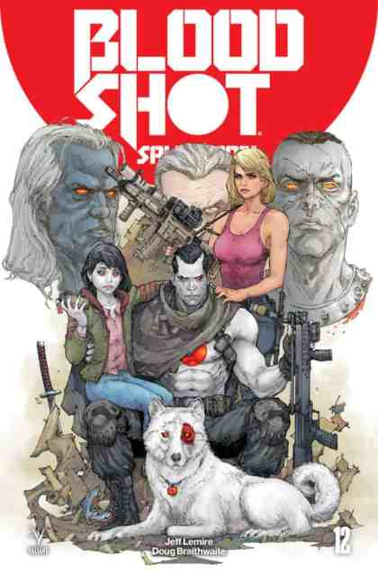 Bloodshot Salvation #12 - Cover A by Kenneth Rocafort