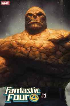 FANTASTIC FOUR #1 - Artgerm The Thing variant