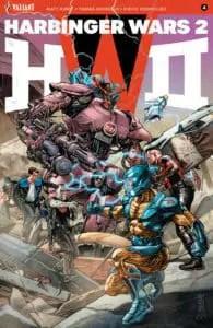 HARBINGER WARS 2 #4 (of 4) - Cover A by J.G. Jones