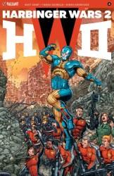 HARBINGER WARS 2 #4 (of 4) – Interlocking Variant by Juan José Ryp