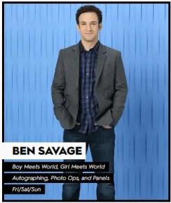 NYCC Ben Savage