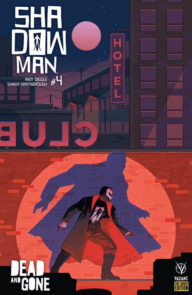 SHADOWMAN (2018) #4 – Pre-Order Edition by Hannah Templer