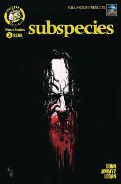 Subspecies #3 - Cover B by Kelly Williams