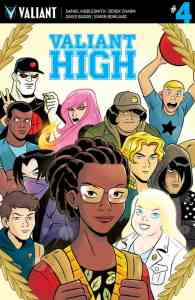 VALIANT HIGH #4 (of 4) - Variant Cover by Derek Charm