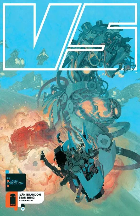 VS #4 - Cover A by Esad Ribic
