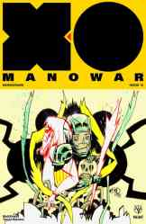 X-O MANOWAR (2017) #18 - Cover B by Jim Mahfood