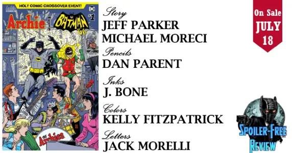 Comic Book Review] ARCHIE MEETS BATMAN \'66 #1 from Archie Comics ...