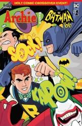 ARCHIE MEETS BATMAN '66 #1 - Variant Cover by Derek Charm