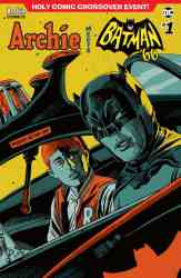 ARCHIE MEETS BATMAN '66 #1 - Variant Cover by Francesco Francavilla