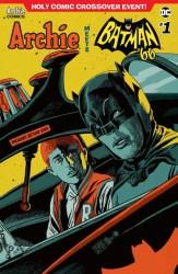 ARCHIE MEETS BATMAN '66 #1 - Variant Cover by Francesco Francavilla