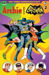 ARCHIE MEETS BATMAN '66 #1 - Variant Cover by Sandy Jarrell