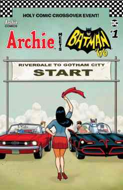 ARCHIE MEETS BATMAN '66 #1 - Variant Cover by Ty Templeton