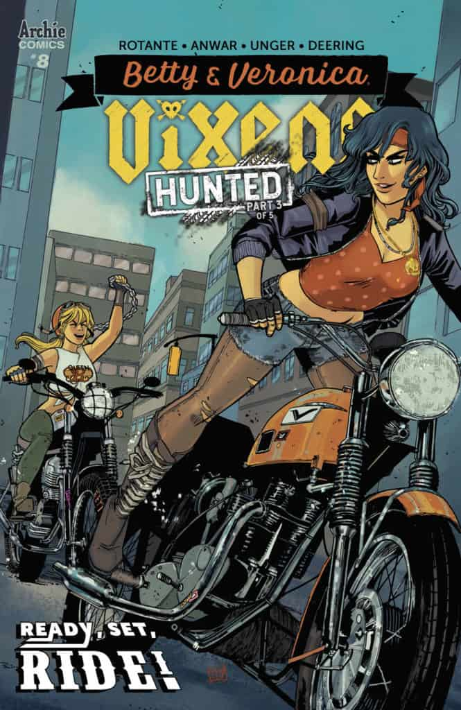 BETTY & VERONICA: VIXENS #8 - Main Cover by Sanya Anwar