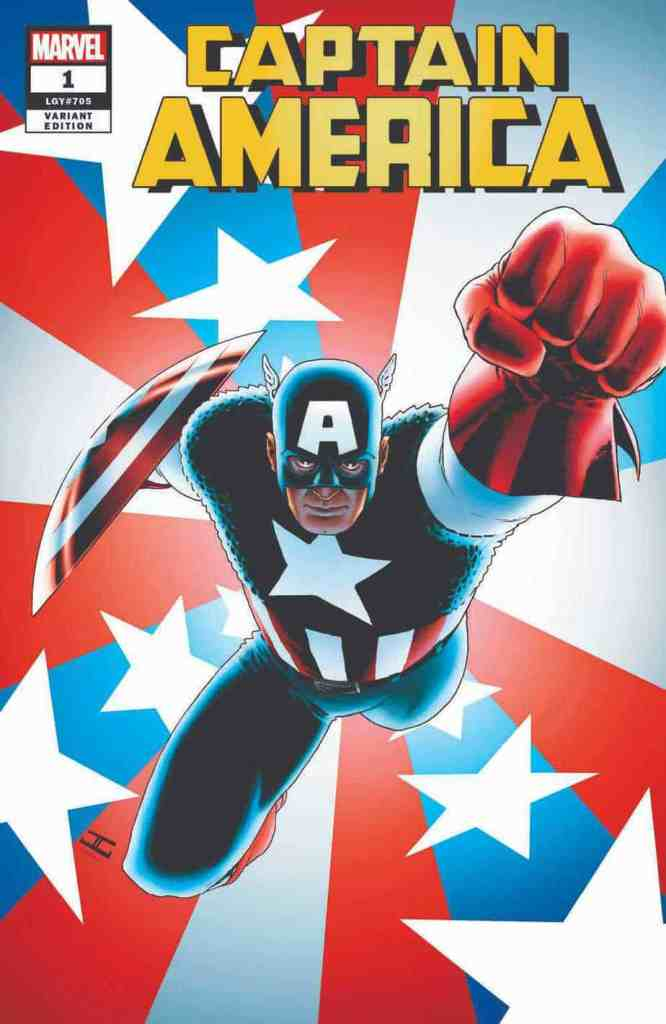 CAPTAIN AMERICA #1 CASSADAY VAR