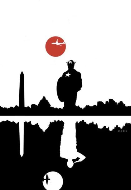Captain America #1 - Variant Cover by David Mack