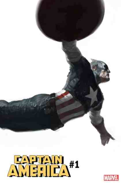Captain America #1 - Variant Cover by Marko Djurdjevic