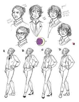 Character Design - Charlie Helm