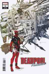 Deadpool: Assassin #1 Variant Cover by Bill Sienkiewicz