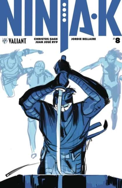 Ninja-K #8 - Cover A by Tonci Zonjic