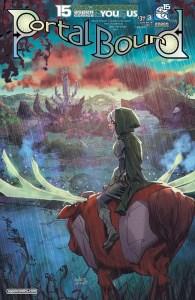 Portal Bound #3 - Cover B by Adam Archer