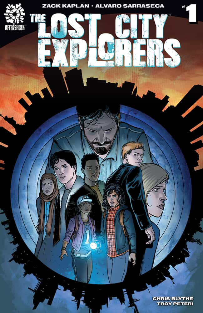 THE LOST CITY EXPLORERS #1 – Cover B by Alvaro Sarraseca