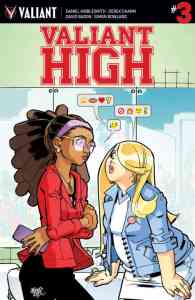 Valiant High #3 - Main Cover by David Lafuente