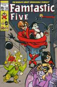 Famtastic Five - Inspired by Fantastic Four Vol 1 #108