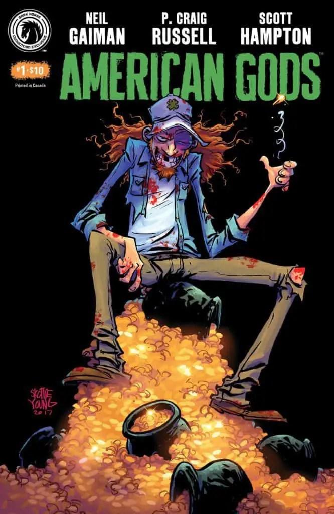 American Gods: Shadows #1 Convention Exclusive (Skottie Young)