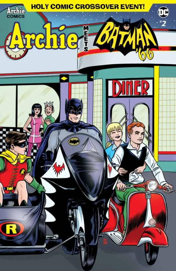ARCHIE MEETS BATMAN '66 #2 - Main Cover by Michael Allread & Laura Allred
