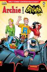 "ARCHIE MEETS BATMAN '66 #2 - Variant Cover by Rick Burchett and Rosario ""Tito"" Peña"