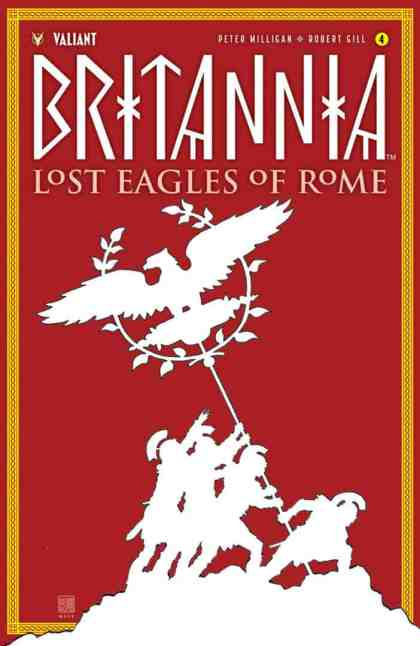 BRITANNIA: LOST EAGLES OF ROME #4 (of 4) - Cover A by David Mack