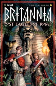 BRITANNIA: LOST EAGLES OF ROME #4 (of 4) - Cover B by Robert Gill