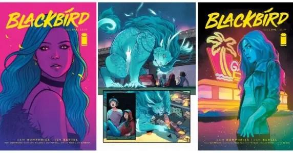Blackbird #1 preview feature