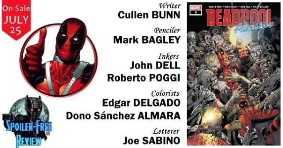 Deadpool Assassin #4 review