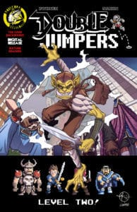 Double Jumpers: Full Circle Jerks #1 Backwards Cover