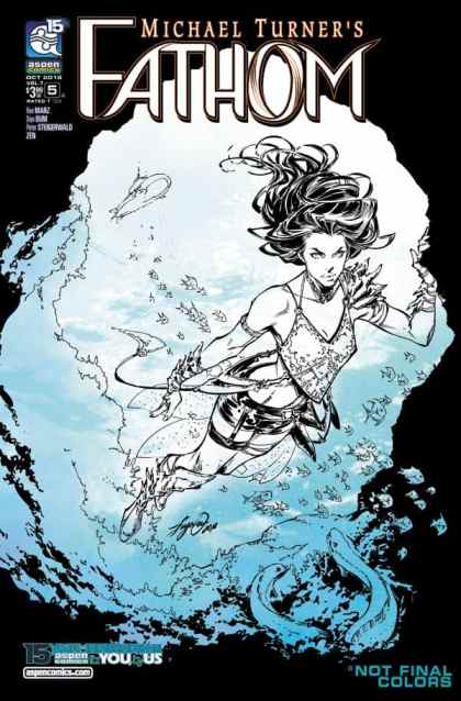FATHOM Vol. 7 #5 - Cover A by Siya Oum
