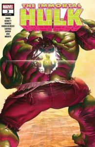 Immortal Hulk #3 - Main Cover by Alex Ross