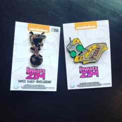 Invader ZIM Golden GIR and Pizza GIR